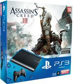 Console PS3 Ultra Slim 500 Go Sony + Assassin's Creed 3 ? Console Playstation 3 Ultra slim Sony